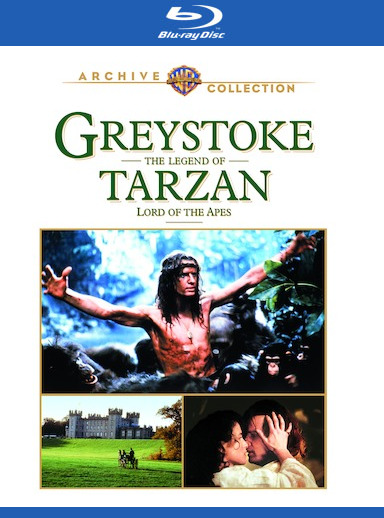 Greystoke: The Legend of Tarzan [Blu-ray] 883316789803