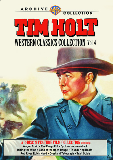 Tim Holt Western Classics Collection: Volume Four 883316995921