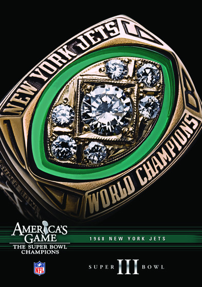 NFL America's Game: 1968 JETS (Super Bowl III) 883476080208