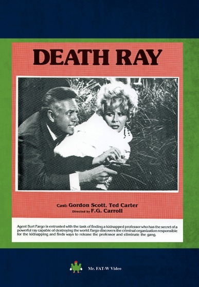 Danger!! Death Ray! 886470462513