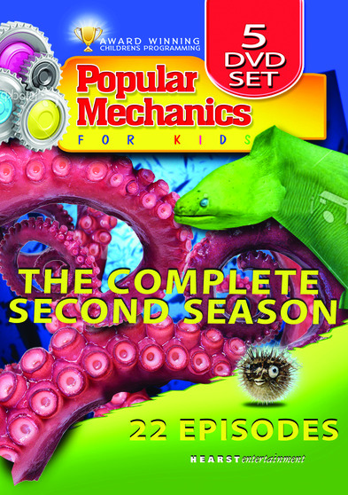Popular Mechanics For Kids - The Complete Series - 72 Episodes -16 DVD Set 887936161575