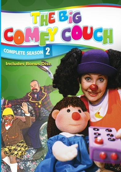 The Big Comfy Couch - The Complete Series - 100 Episode Collector's Edition - 22 DVD Set 887936528118