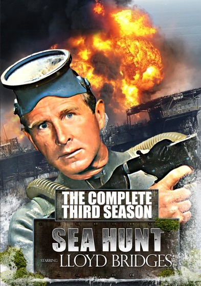 Sea Hunt: The Complete Series Collector's Edition (Seasons 1, 2, 3 & 4) - 20 DVD Set 887936826849
