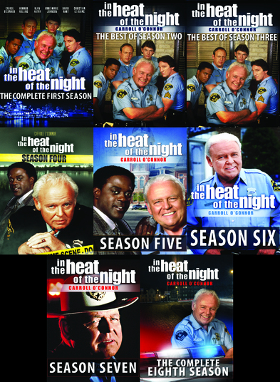 In The Heat of the Night: The Series Collector's Edition - The Best of all 8 Seasons - 34 DVDs -119 Episodes 887936901737