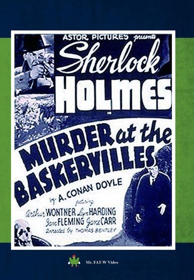 """Sherlock Holmes """"Murder at the Baskervilles"""" 887936941337"""