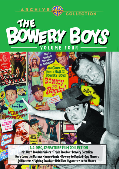The Bowery Boys Collection: Vol 4  888574015763