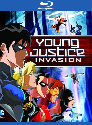 Young Justice: Invasion [Blu-ray] 888574098636