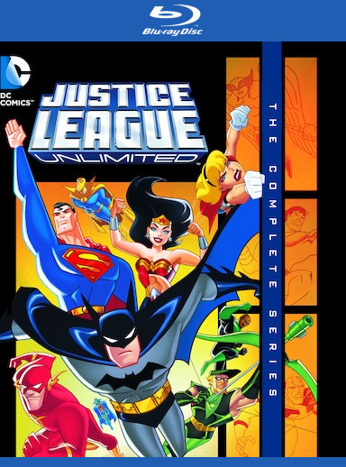 Justice League Unlimited: The Complete Series  [Blu-ray] 888574328245