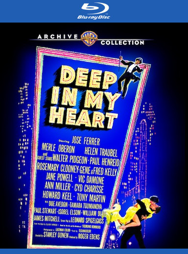 Deep in My Heart [Blu-ray] 888574341862