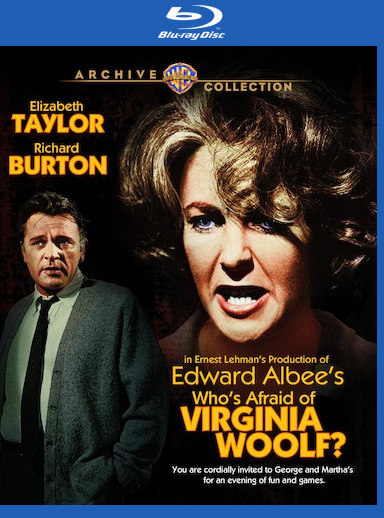 Who's Afraid of Virginia Woolf? [Blu-ray] 888574389697