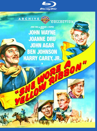 She Wore a Yellow Ribbon [Blu-ray] 888574396039