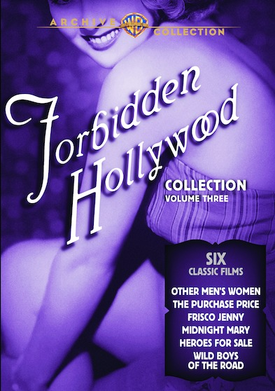Forbidden Hollywood Collection Volume 3  888574431242