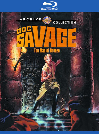 Doc Savage: The Man of Bronze  [Blu-ray] 888574452209