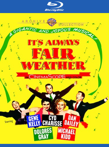 It's Always Fair Weather [Blu-ray] 888574453138
