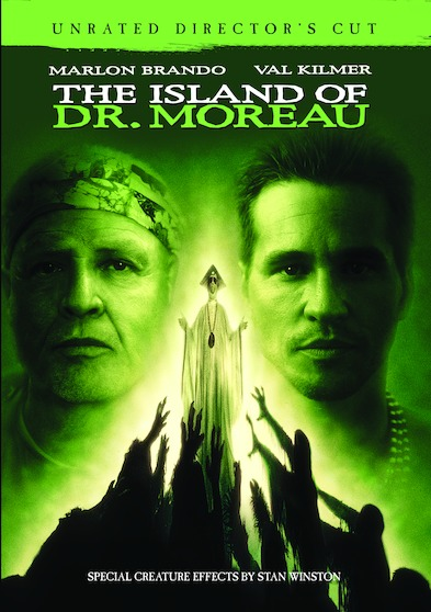 The Island of Dr. Moreau: Unrated Director's Cut  888574487850