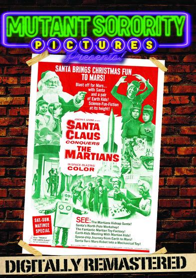 Santa Claus Conquers the Martians - Digitally Remastered 889290064578