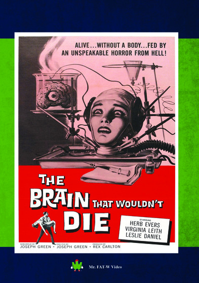 The Brain That Wouldn't Die 889290083876