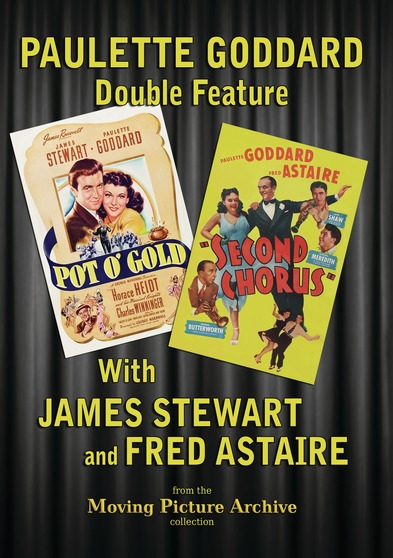Paulette Goddard  Double Feature - Pot OGold & Second Chorus