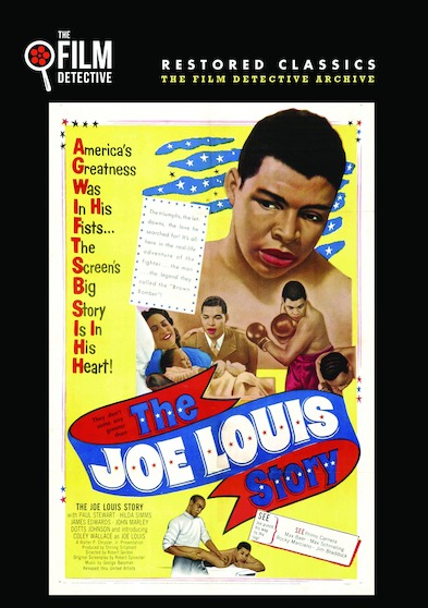 The Joe Louis Story (The Film Detective Restored Version) 889290423245