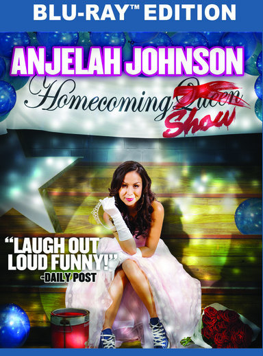 Anjelah Johnson: The Homecoming Show(BD) 889290604514