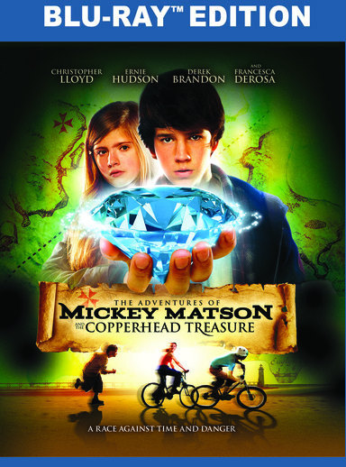 The Adventures of Mickey Matson and the Copperhead Treasure (BD) 889290936783