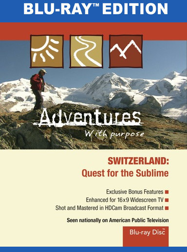 Adventures with Purpose: Switzerland [Blu-ray]