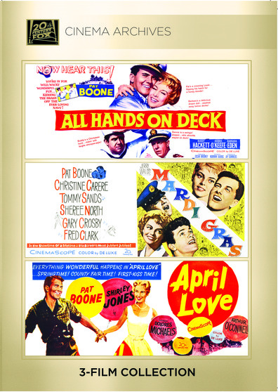 (Pat Boone Set) All Hands On Deck; Mardi Gras; April Love