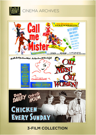 (Dan Dailey Set) Call Me Mister; Oh, Men! Oh, Women!; Chicken Every Sunday