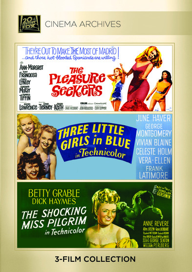 The Pleasure Seekers; Three Little Girls In Blue; The Shocking Miss Pilgrim