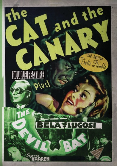 The Cat and the Canary / The Devil Bat