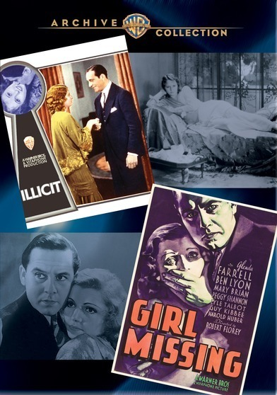WAC Double Features: Girl Missing/Illicit