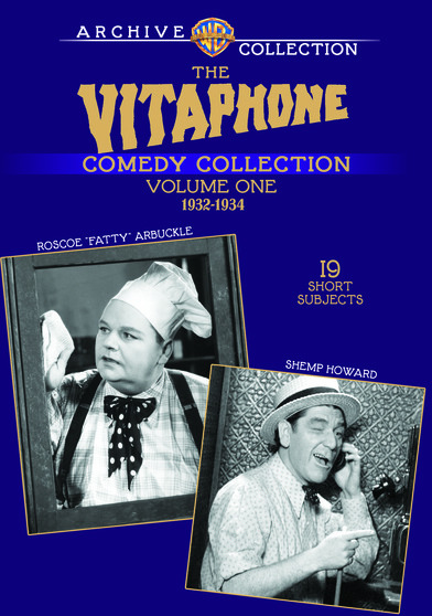 "The Vitaphone Comedy Collection Volume One - Roscoe ""Fatty"" Arbuckle/Shemp Howard"