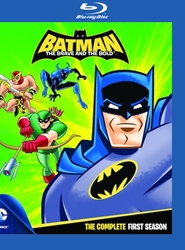 Batman Brave & The Bold: The Complete First Season [Blu-ray]