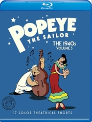 Popeye the Sailor: The 1940s Volume 3
