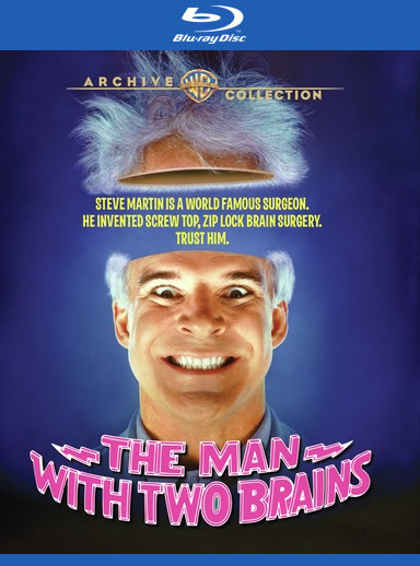 Man with Two Brains, The [Blu-ray]
