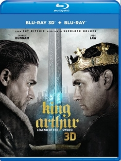 King Arthur: Legend of the Sword [3D Blu-ray + Blu-ray + Digital Combo Pack]