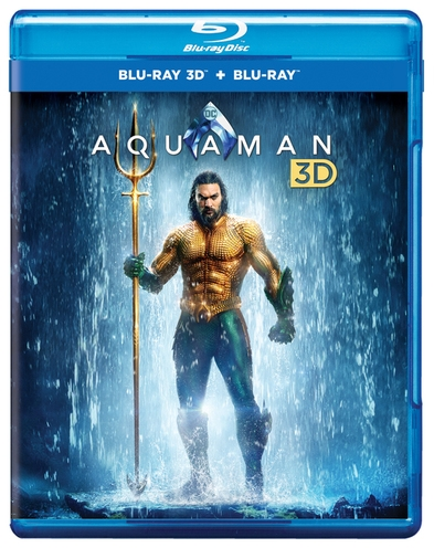 Aquaman (3D Blu-ray + Blu-ray + Digital Combo Pack)