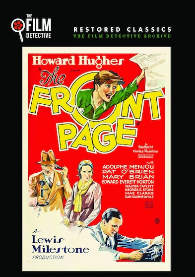 The Front Page (The Film Detective Restored Version)
