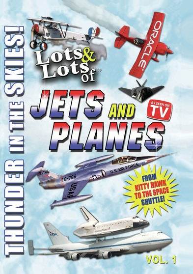 Lots & Lots of Jets and Planes Volume 1 - Thunder in the Skies
